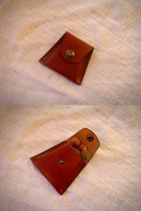 porte monnaie en cuir