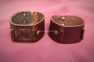 reproduction bracelet montre en cuir par tithouan ateliercuir