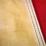 Carquois en cuir cousu main pour archet de contrebasse, facile à utiliser et très pratique