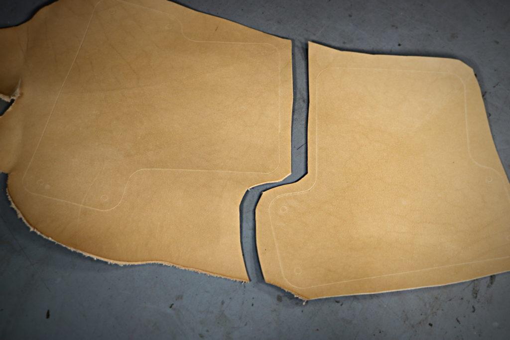 Etui de ceinture en cuir pour smartphone et iphone XS - tithouan pour ateliercuir.com