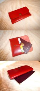 porte passeport en cuir, stage travail du cuir