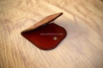 porte monnaie grand père en cuir